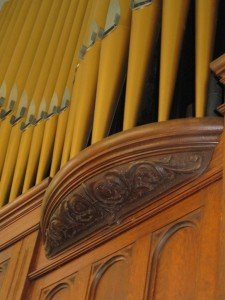 Photo of 1922 Moeller Pipe Organ at Bay Street Presbyterian Church in Hattiesburg, MS